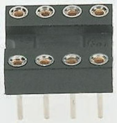 Winslow 2.54mm Pitch Vertical 32 Way, Through Hole Turned pin Open Frame IC Dip