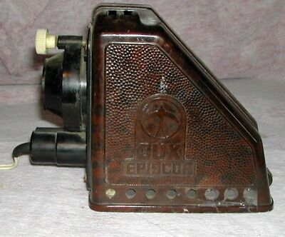 Dux Episcop Projector Brown Bakelite Made In Germany Type No.49 120V-40W