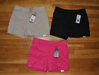 NWT Womens THE LIMITED Tailored Flat Front Dress Shorts Sizes 4 8 10 12 14 16