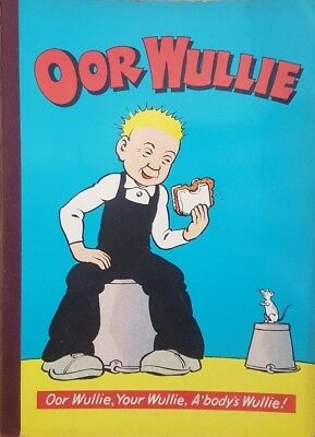 Oor Wullie 1972 Comic Annual in GOOD Condition