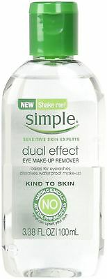 Simple Kind to Skin Dual Effect Eye Makeup Remover 3.38 oz