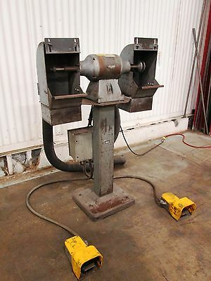 Pedestal Buffing Machine - Used - AM15683