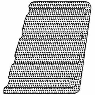 Grille Screen - RH Ford 7810 8000 8210 7910 7700 TW15 7710 TW5 6700 5700 6710