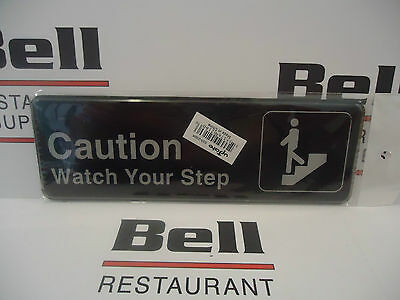 """*NEW* 3"""" x  9"""" CAUTION WATCH YOUR STEP Sign Restaurant"""