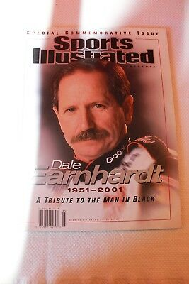 Sports Illustrated Special Commemorative Dale Earnhardt Issue 2001 Mint