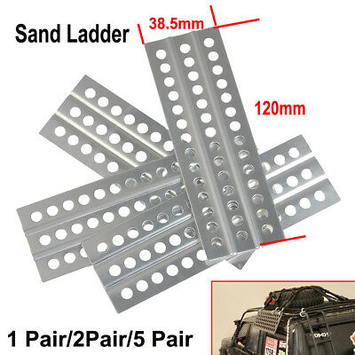 Alloy Metal Sand Ladders for Axial SCX10 Trx-4 D90 1/10th Scale RC Crawler S