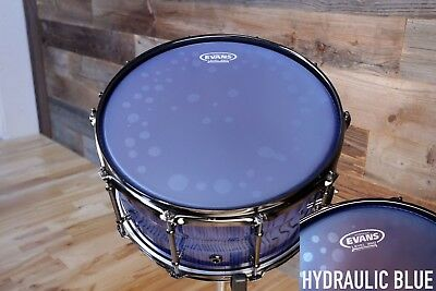 """Evans Hydraulic Blue Coated Snare Batter Drum Head Skin 14/"""""""