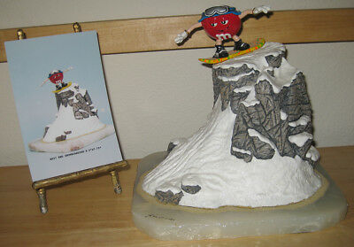 Ron Lee M&M Red Snowboarding - Hand Signed - Ltd. Edition # 125 of only 750