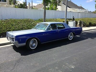 1966 Lincoln Continental Incredible Condition 1966 Lincoln Continental - Cali Car, 74k miles with docs, NO RUST, Amazing Paint