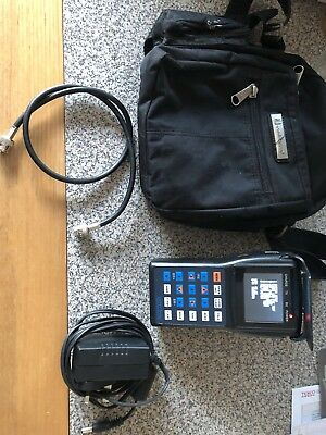 Triax cctv Tester with LCD screen and a carry bag