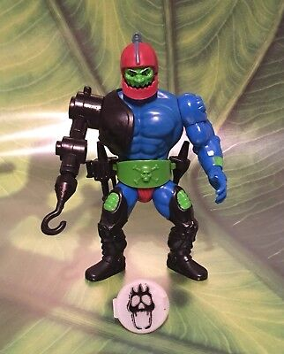 Masters Of The Universe Trap Jaw Malaysia 1981 + Warriors Ring