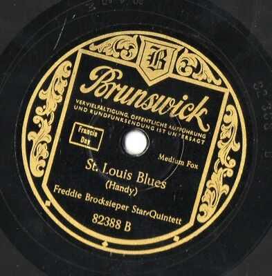 Freddie Brocksieper Star-Quintett St. Louis Blues/ Shine Schellackplatte