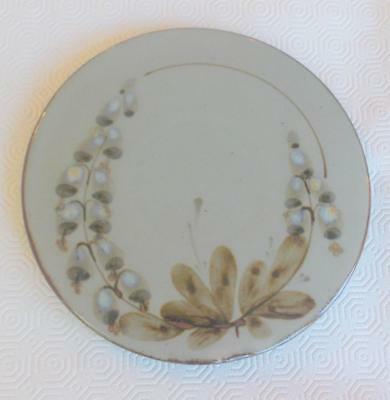 Vintage Highland Stoneware Lochinver Teapot Stand Floral Decoration 8.75In D.