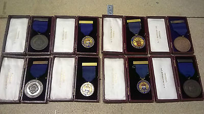 Medals X 18. Masterbakers Including 2X Hovis Medals
