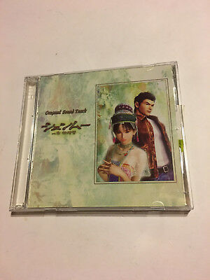 Shenmue Rare Game 2 Two Cd Soundtrack Music Japanese Limited