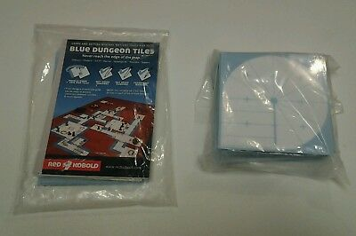 Blue Dungeon Tiles - Basic Set
