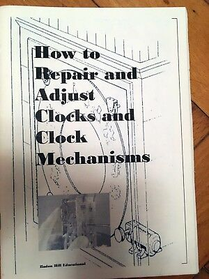 Clock Repair - Learn to do it you self.