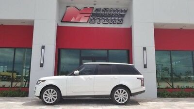 2015 Land Rover Range Rover  2015 RANGE ROVER V8 SUPERCHARGED - ONLY 18,000 MILES - WARRANTY