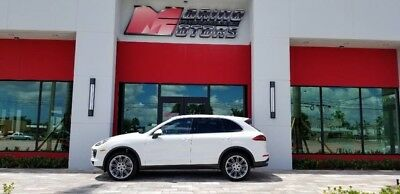 2016 Porsche Cayenne  2016  CAYENNE DIESEL - 1 FLORIDA OWNER - 21 WHEEL OPTION - WARRANTY