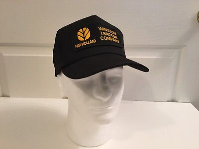 Nos New Holland Tractor Snapback Cap K-products USA
