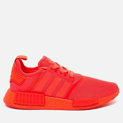 4754815f11029 adidas Originals NMD R1 S31507 Triple Red Orange Colored Boost Men LIMITED  DS