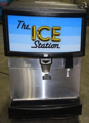Ice Station Scotsman IS160-LF-1A Counter Top Ice Dispenser Stainless Steel