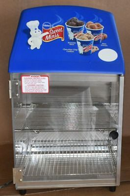 Wisco 737 Compact Food Warming and Merchandising Cabinet - Heated NEW