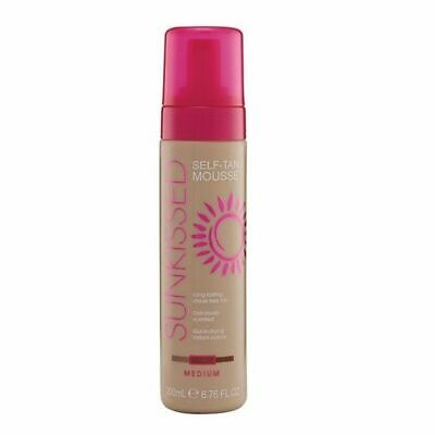 SUNKISSED Self Tan Mousse Medium 200ml - NEW