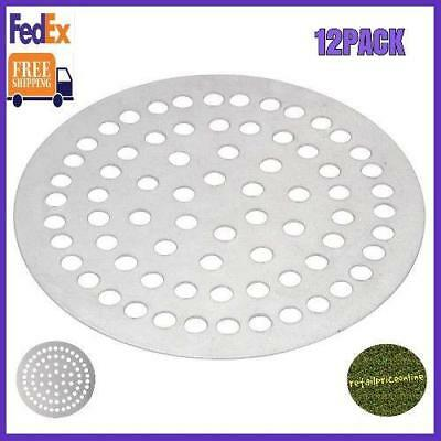 """12 Pack 18"""" Super Perforated Pizza Disk Us FedEx FREE Shipping Limited Stock"""