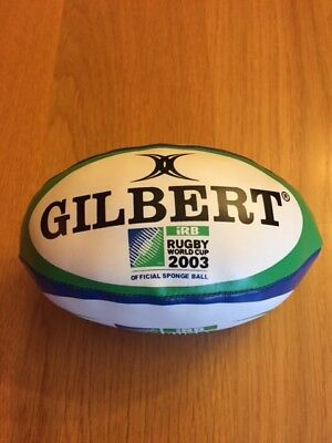 England Gilbert Rugby World Cup 2003 Official Sponge Ball in great condition