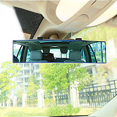 Universal Wide Curve Convex Rear View Mirror Panoramic Interior Clip On Car A2#