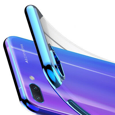Funda Gel TPU Transparente Antigolpes para honor 10 carcasa flexible hibrida
