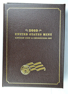 2009 Lincoln Coin and Chronicles Set OMP & COA