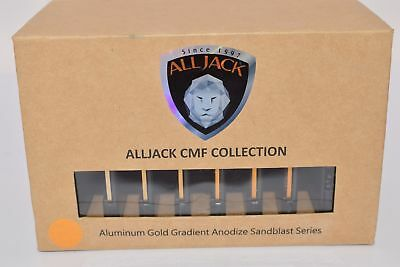 NEW ALLJACK CMF Collection, Aluminum Gold Gradient Anodize Sandblast Series, AL6