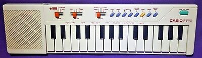 Casio PT-10 Vintage 80s Mini Keyboard GR8T CONDITION TESTED