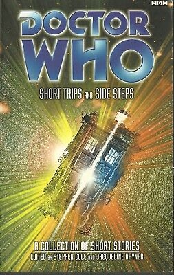 OOP Paperback Book - DOCTOR WHO - SHORT TRIPS and SIDE STEPS - BBC - $15+