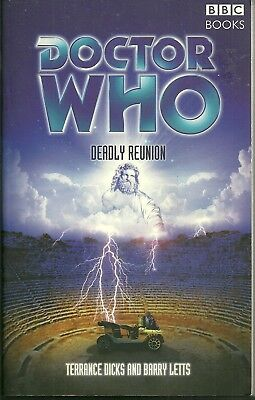 OOP Paperback Book - DOCTOR WHO  DEADLY REUNION - Terrance Dicks/Barry Letts BBC