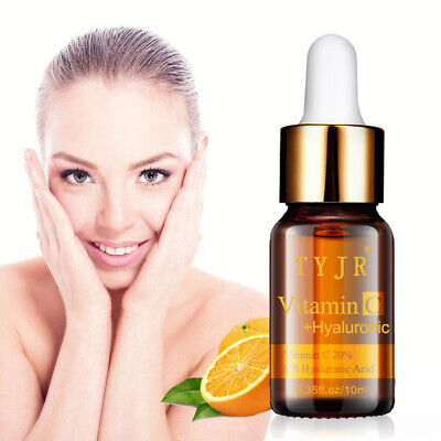 NEW Pure Vitamin C 20% Serum for Face Skin Hyaluronic Acid Anti Aging Wrinkle