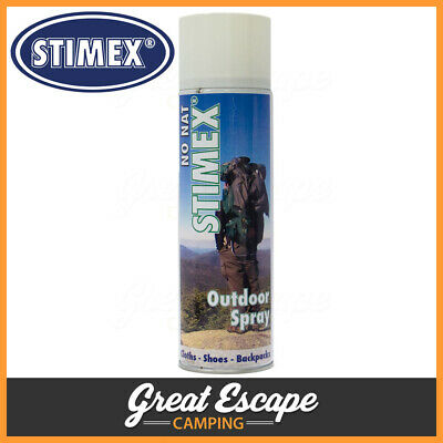 Stimex Outdoor Spray. Waterproof & DIrt protection for Clothes Shoes & Backpacks