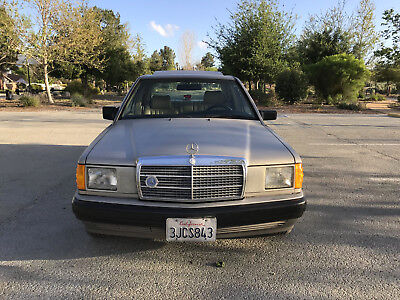 1991 Mercedes-Benz 190-Series sedan 1991 Mercedes Benz 190E 2.6 5-speed manual transmission