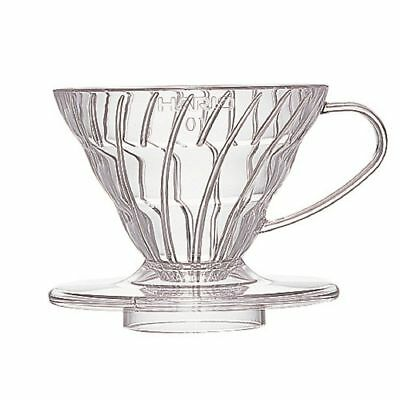 Hario V60 Coffee dripper 01 Clear VD-01T for 1 to 2 cups Japan