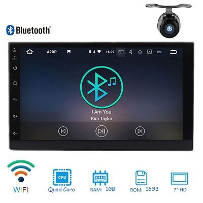 NEW Android Car Stereo 6.0 7 inch GPS Navigation WiFi Car Radio Bluetooth Player