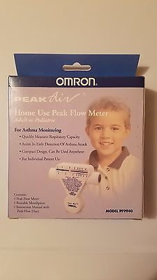 Omron Peak Air Flow Meter Asthma Monitor Or Pediactric FAST SHIPPING!
