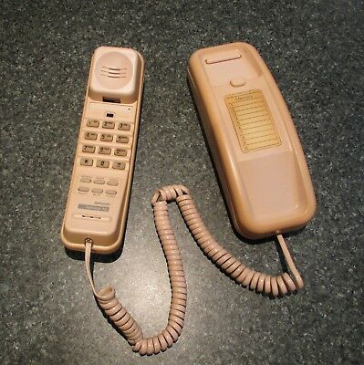 Collectable early 1990's telephone Telecom Australia 'Slimline 15' phone in Pink
