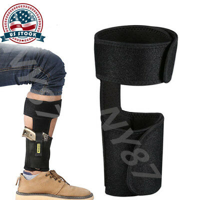 US Tactical Ankle Leg Holster Pouch Holder Belt Concealed Army For Pistol Gun