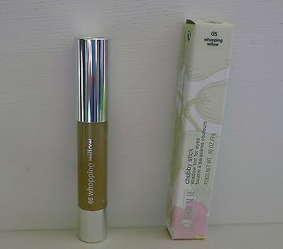 1x CLINIQUE Chubby Stick Shadow Tint For Eyes, #05 Whopping Willow BrandNewInBox
