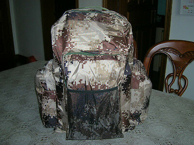 07's series China PLA Army Desert Digital Camouflage Backpack,NEW