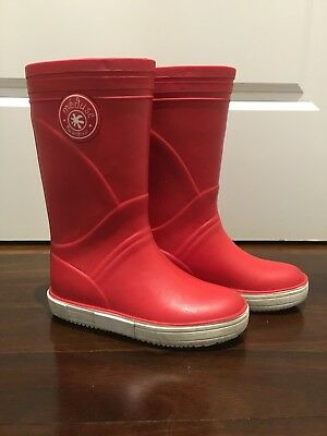 Hardly Worn. French made Gumboots/ Rain Boots From Meduse