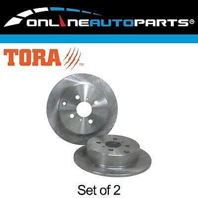 Rear Disc Brake Rotors suits Toyota Corolla ZZE122R 01~07 1.8L -Japan Made Model