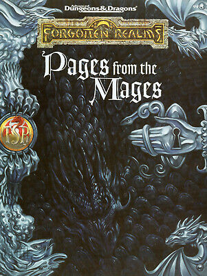 AD&D FR-Pages from the Mages * wieNEU - Original-Ausgabe